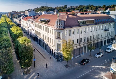 Legendinis Kauno pastatas po rekonstrukcijos taps daugiafunkce erdve