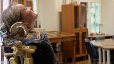 Būsimoji odontologė Kristina Manomaitytė yra įsitikinusi, kad dėl kilnaus tikslo visada verta stengtis