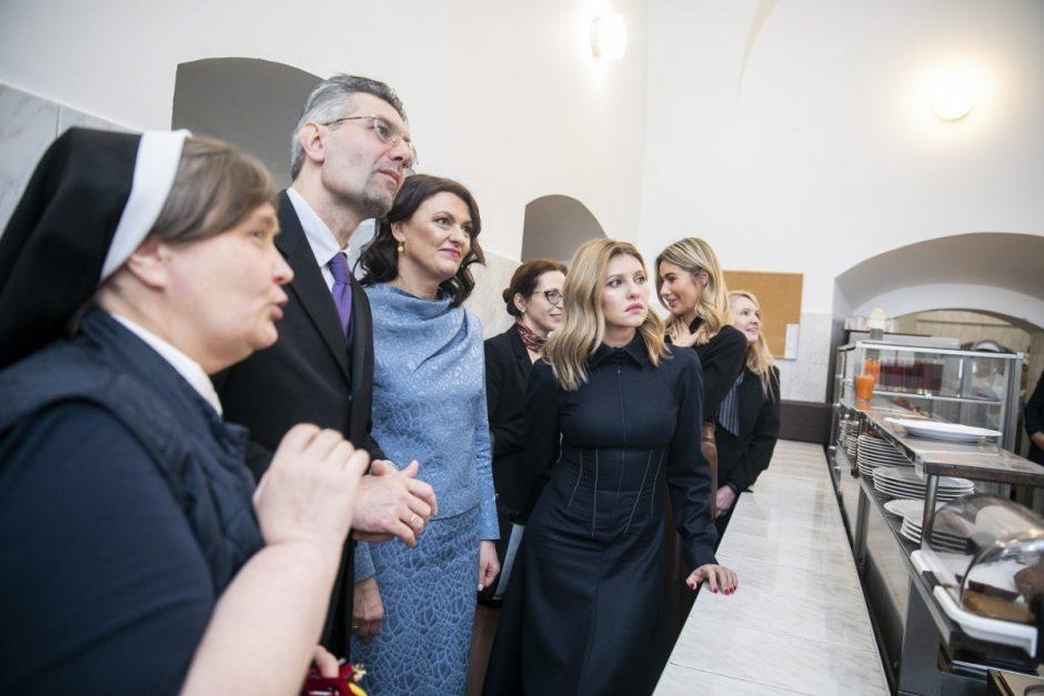 Lietuvos ir Ukrainos pirmosioms ponioms pristatytos vaikų mitybos aktualijos