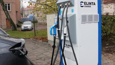 Plečiamas elektromobilių įkrovimo stotelių tinklas