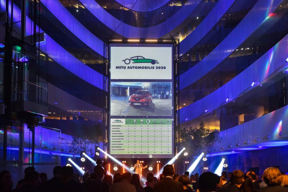 """""""Lietuvos metų automobilis 2020"""" – mažas ir patogus """"Renault Clio"""""""