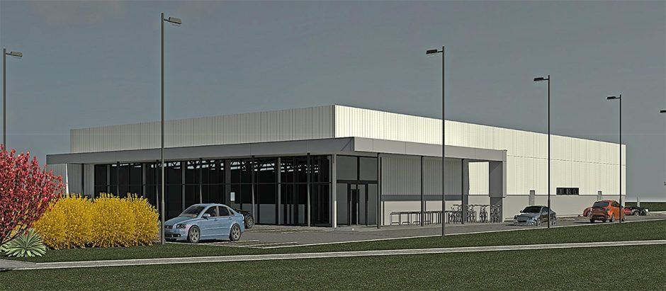 Prekybos paskirties pastato naujos statybos Mažeikiuose projektinių pasiūlymų svarstymas su visuomene