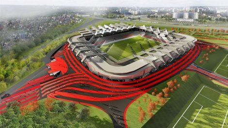 Iki sutarimo dėl nacionalinio stadiono Vilniuje liko vos vienas balsavimas