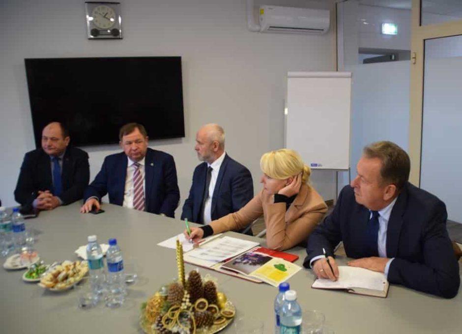 Vietos savivaldos vadovai lankėsi Elektrėnų savivaldybėje