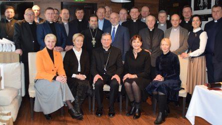 Maldos pusryčiai pirmą kartą subūrė skirtingų konfesijų dvasininkus