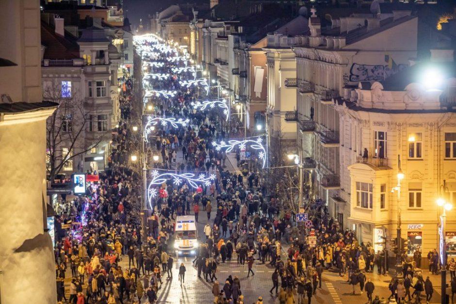 Vilnius renka gražiausią kalėdinę vitriną