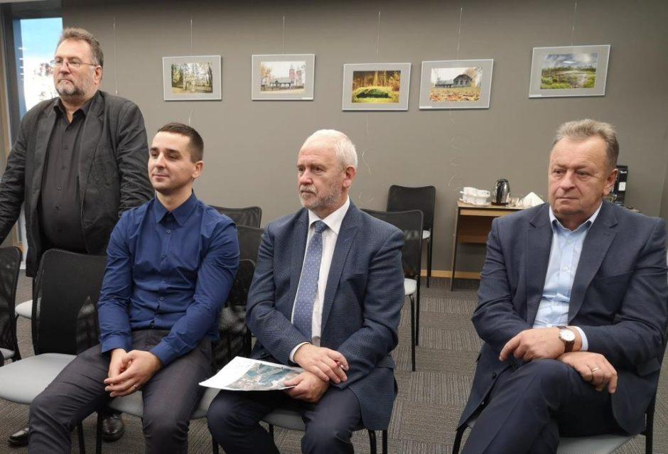Tarėsi dėl tolesnio bendradarbiavimo su Ventos regioniniu parku