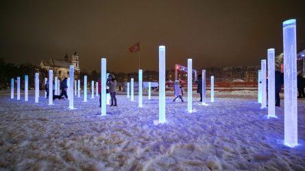 Į Lukiškių aikštę sugrįš fontanas – vandens, šviesos ir stiklo instaliacija