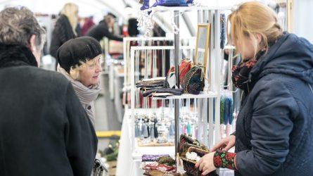 Kitą savaitę atidaroma stilingų dovanų erdvė – Kalėdinis dizaino skveras