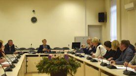 Švietimo įstaigų vadovų pasitarime aptarti svarbūs klausimai
