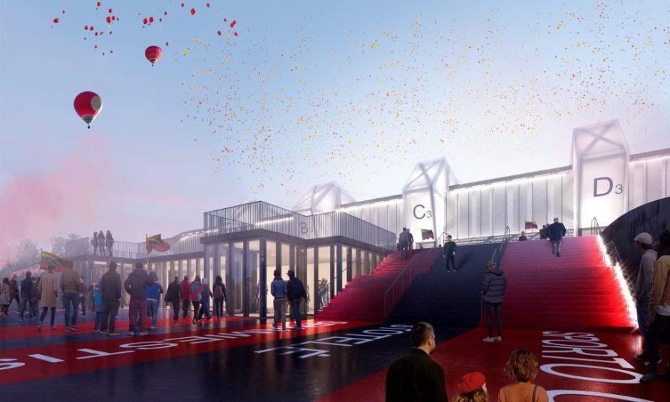 Kalėdinė dovana sostinei – pritarta Daugiafunkcio sporto komplekso statyboms