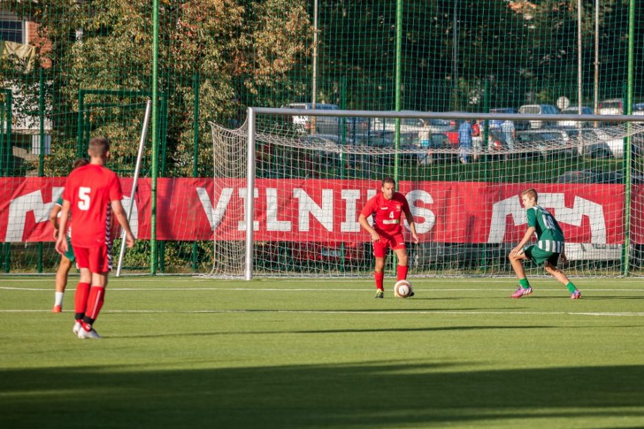 Nuspręsta likviduoti neefektyviai veikusią Vilniaus futbolo mokyklą