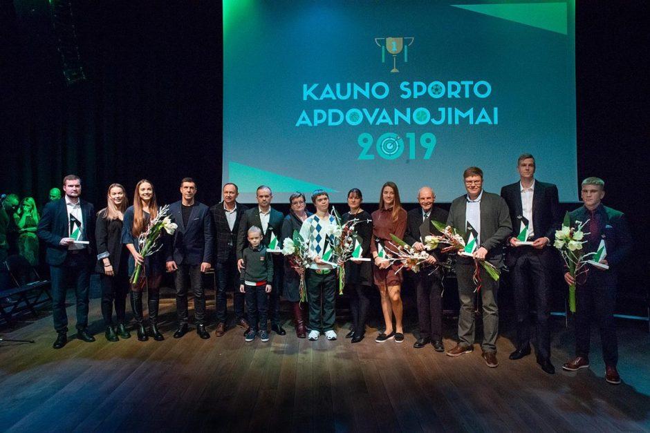 """""""Kauno sporto apdovanojimuose 2019"""" – geriausių miesto atletų triumfo akimirkos"""