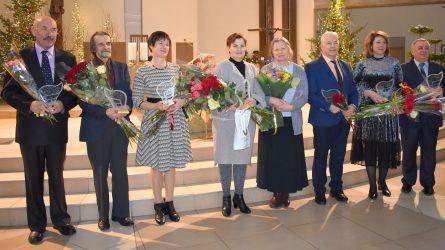 Apdovanoti rajono kultūros šviesuoliai
