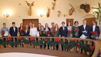 Aktyviausiems Kauno rajono mokiniams – motyvuojantys žodžiai ir stipendijos