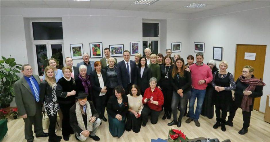 Žurnalistų auksinė kulka pirmą kartą įteikta miesto savivaldybės merui