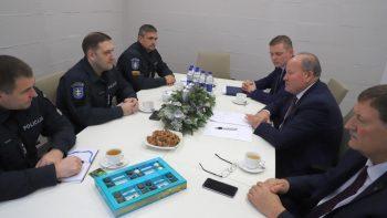 Naujasis policijos vadovas skirs daugiau dėmesio komunikacijai