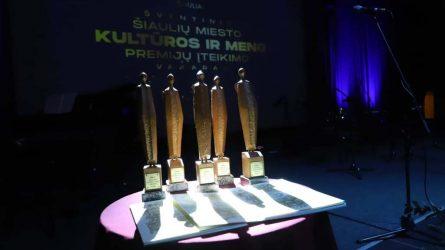 Įteiktos Šiaulių miesto kultūros ir meno premijos