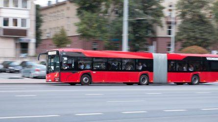Nuo sausio 1 d. pokyčiai sostinės autobusų maršrutuose