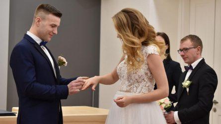 Susituokė pirmoji šių metų pora!