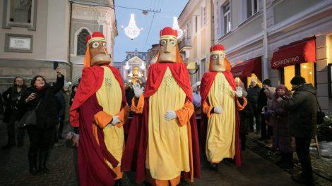 """Festivalį """"Kalėdos sostinėje"""" užbaigs Trijų Karalių eisena ir Stačiatikių Kalėdų šventė"""