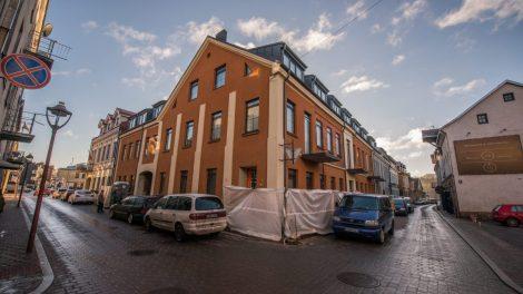 Dar gražesniam miestui: Kaunas toliau prisidės tvarkant aptriušusius pastatų fasadus