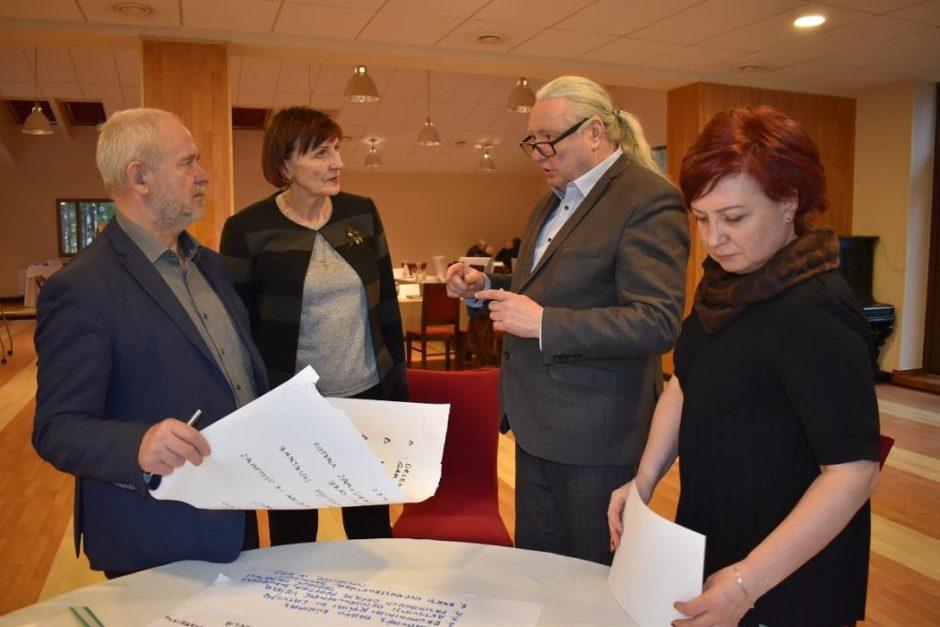 Gera žinia: pradėtas kurti Savivaldybės strateginis plėtros planas