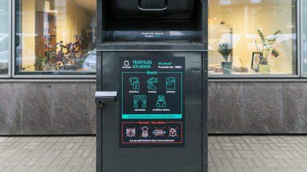 Tekstilės atliekų surinkimo naujovės sostinėje: 105 nauji konteineriai patogesnėse vietose
