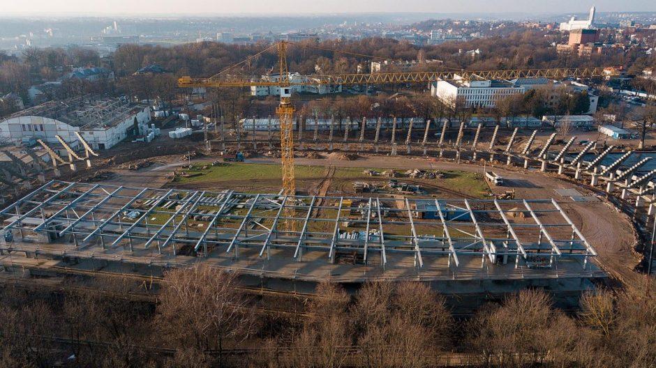 Kaunas rinksis naujus stadiono statytojus
