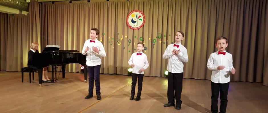 Mažeikių vaikų ir mokinių vokaliniai kolektyvai dalyvavo antrajame konkurso etape