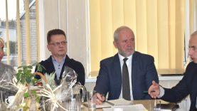 Susitikime su verslininkais aptartos bendradarbiavimo gairės
