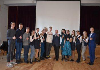 Jaunuoliams apie Europos Sąjungos lėšas ir jų įsisavinimą