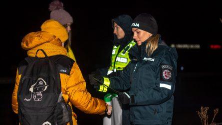 Klaipėdos pareigūnų prevencinė priemonė Kalotėje davė greitą ir akivaizdų rezultatą