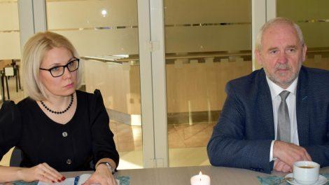 Savivaldybės ir Šiaulių darbo rinkos mokymo centro vadovų susitikime – apie paslaugų plėtrą