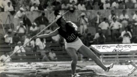 Olimpinės Legendos: lietuvio pagaminta ir B. Kalėdienės sviesta ietis pasiekė pasaulio rekordą
