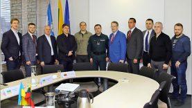 Susitikime su Ukrainos delegacija aptarta geroji patirtis bei tolimesnis tarpinstitucinis bendradarbiavimas