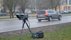 Greičio kontrolės vietos Šiaulių mieste