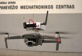 Sėkmės istorija – Panevėžys. Mokslininkų išradimas – unikalus oro taršą matuojantis dronas