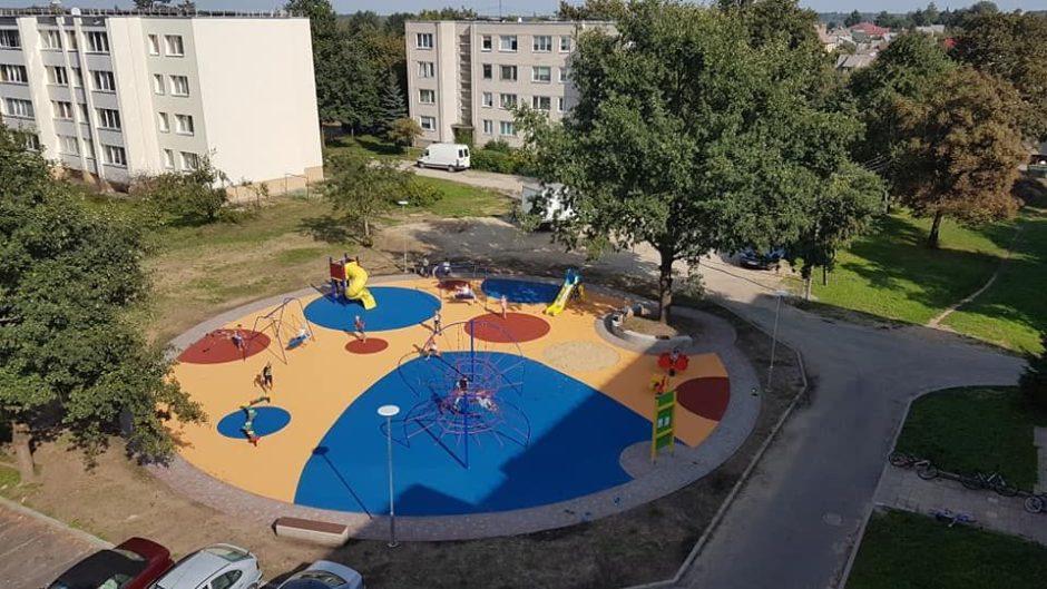 """Baigtas įgyvendinti projektas """"Kauno rajono Ežerėlio miesto atnaujinimas"""""""