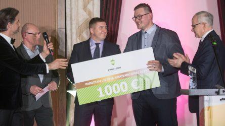 """Šiauliečiai triumfavo """"Parateam Lietuva 2019"""" apdovanojimuose"""