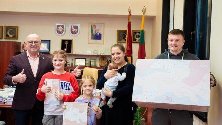 Gausėjančioms kauniečių šeimoms – jauki augančio miesto dovana