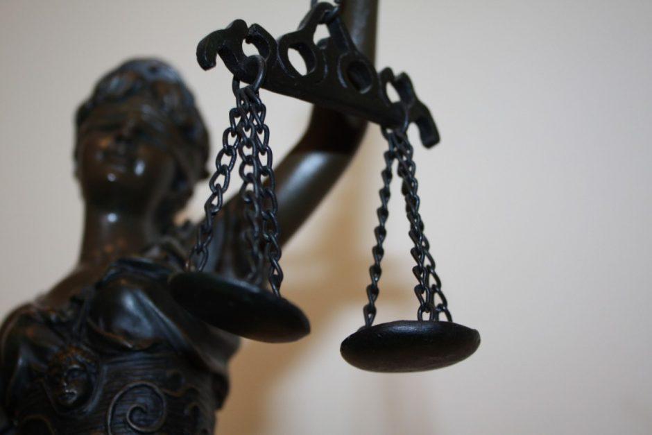 Surašytas kaltinamasis aktas byloje dėl galimai N. V. padarytų nusikalstamų veikų