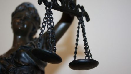 Karjeruose, įtariami, vykdę vagystes jaunuoliai aiškinsis teisme