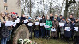 Paminėta Holokausto aukų atminimo diena