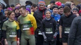 L. Kančytė su būriu bėgimo entuziastų Druskininkuose įveikė ekstremalią trasą