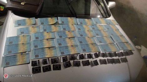 Marijampolės policija sudavė triuškinantį smūgį nusikalstamu verslu užsiimantiems asmenims