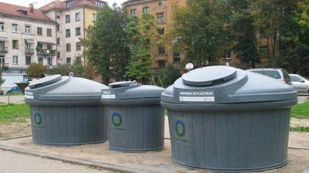 Telkiamos pastangos Vilniuje geriau tvarkyti atliekas