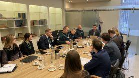 Policijos departamente – susitikimas su Valstybinės duomenų apsaugos inspekcijos atstovais