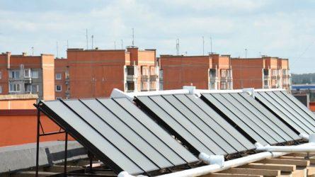 """Daugiabučių renovacija: dar viena paskata namų šildymui naudoti """"žaliąją"""" energiją"""