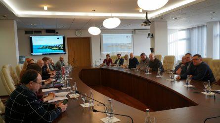 Tarptautinė jūrų tyrinėjimo taryba nori stiprinti bendradarbiavimą su Lietuva